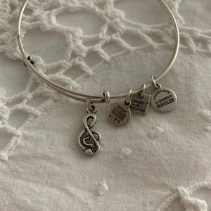 Alex and Ani Music Note Bracelet